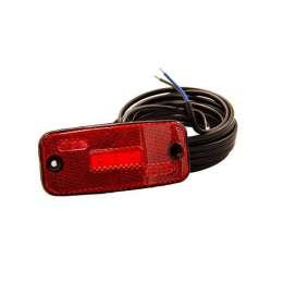 Sidomarkeringsljus LED röd