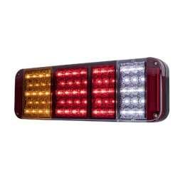 Bakljus LED med reflex hö/vä