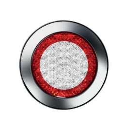 Bakljus rund LED med reflex