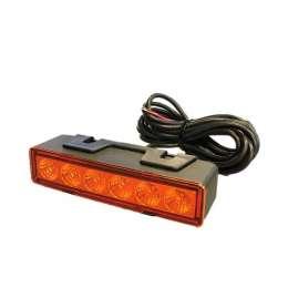 Blixtljus orange LED